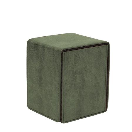 Ultra Pro Alcove Flip Box Suede - Emerald