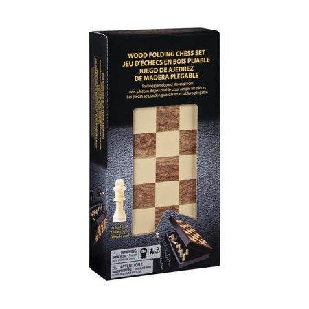 Wood Folding Chess Set
