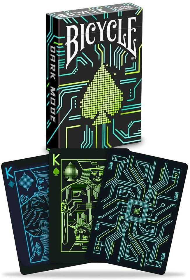 Bicycle Playing Cards - Dark Mode Deck