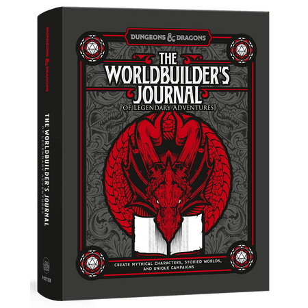 Dungeons & Dragons: The Worldbuilder's Journal of Legendary Adventures