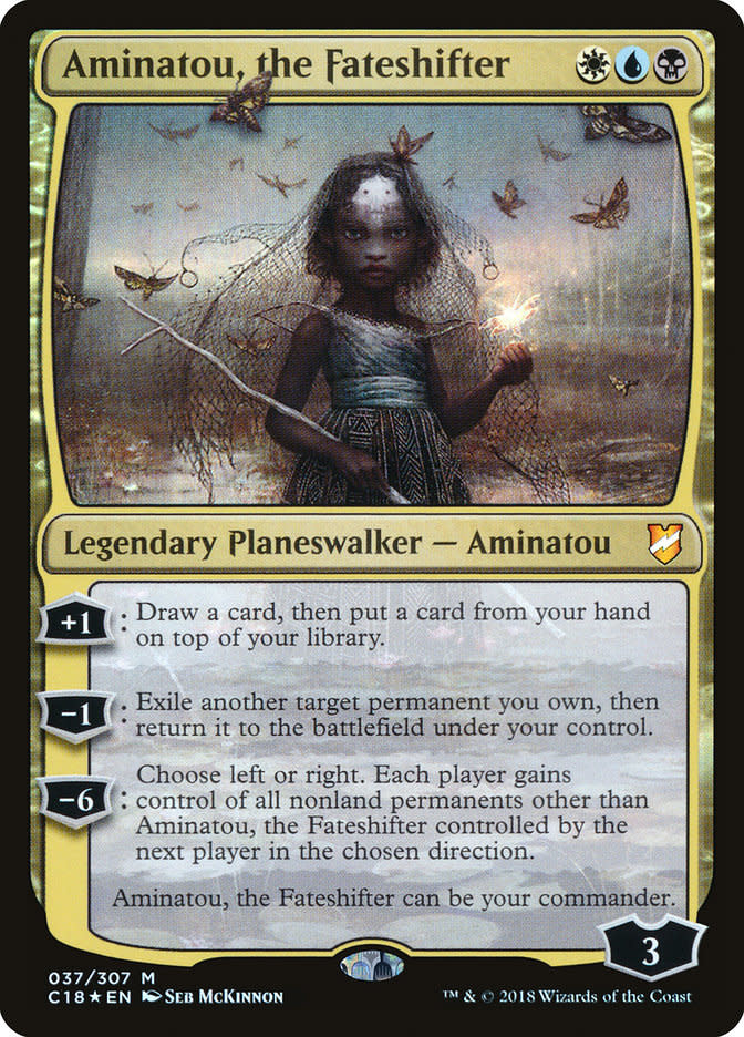 Aminatou, the Fateshifter - Foil