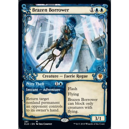 Brazen Borrower // Petty Theft