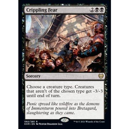 Crippling Fear - Foil