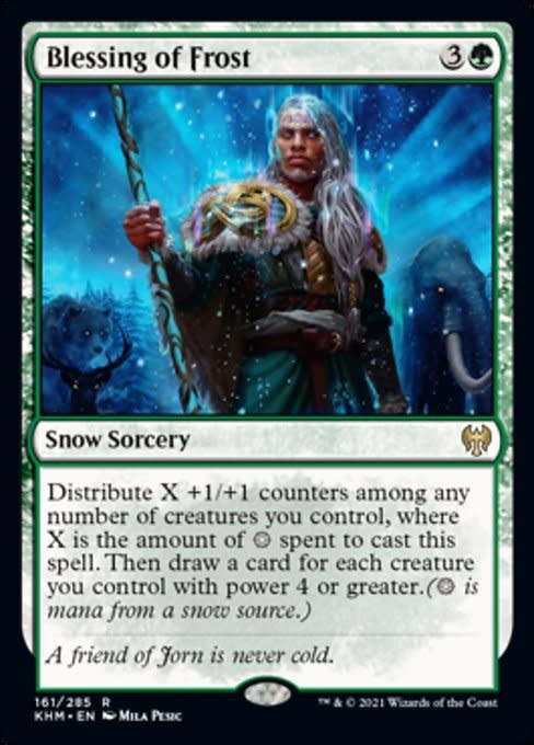 Blessing of Frost - Foil