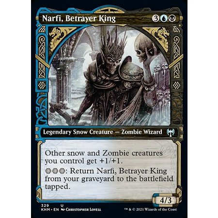 Narfi, Betrayer King - Foil