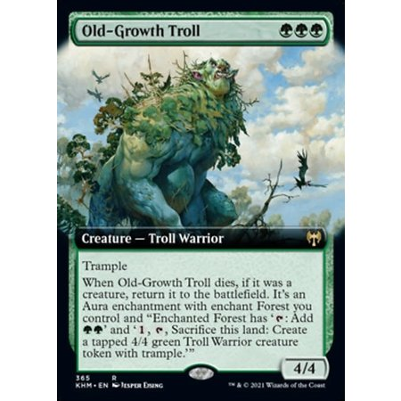 Old-Growth Troll - Foil