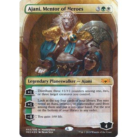 Ajani, Mentor of Heroes - Foil