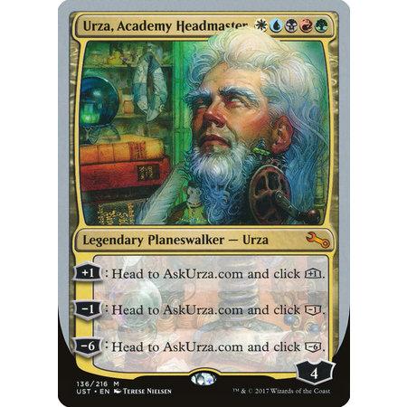 Urza, Academy Headmaster