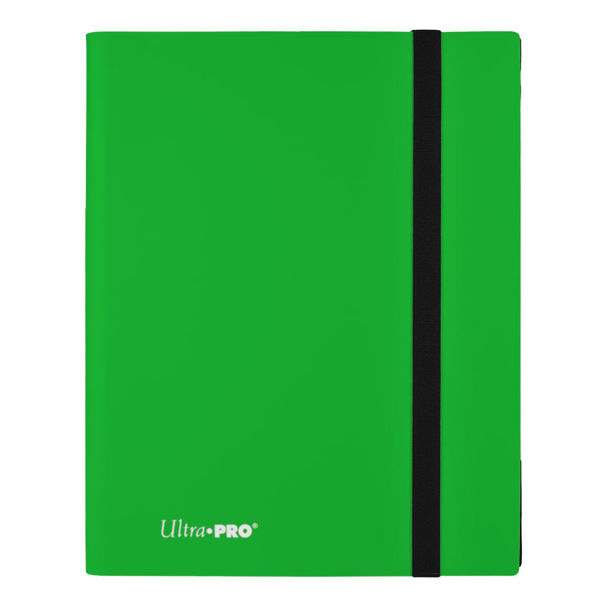 9-Pocket Lime Green PRO-Binder