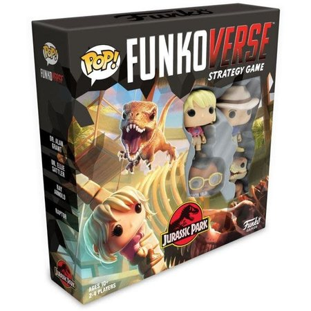Funkoverse Strategy Game - Jurassic Park