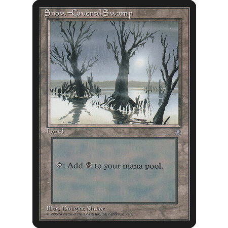 Snow-Covered Swamp (MP)