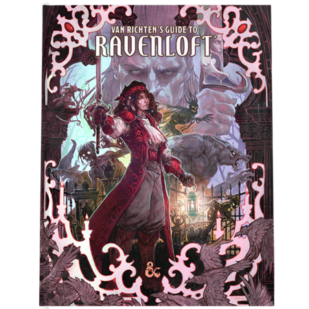 Dungeons and Dragons 5th Edition RPG: Van Richten's Guide to Ravenloft - Hobby Edition