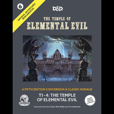 PREORDER - Original Adventures Reincarnated - #6 Temple of Elemental Evil