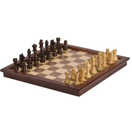 """Chess - 17"""" Tournament Style Wooden Chess Set"""