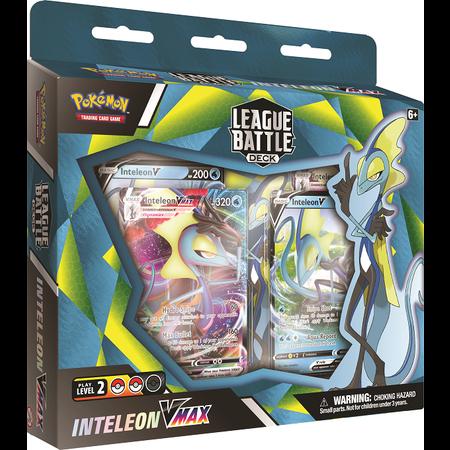 Pokemon League Battle Deck Inteleon Vmax
