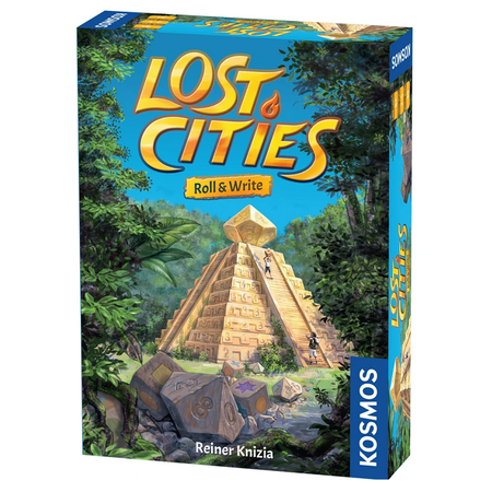 Lost Cities: Roll and Write