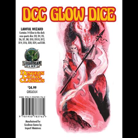 DCC Dice - Lawful Wizard Glow Dice