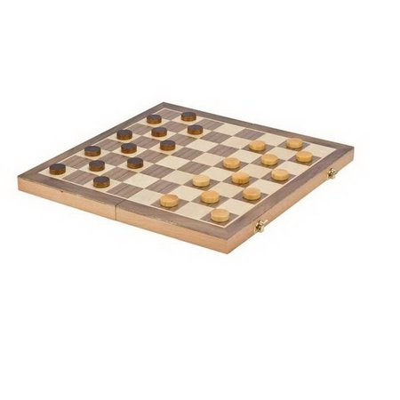 """3-in-1 Wooden Chess Checker and Backgammon Game Set 15"""" (CH2146D)"""