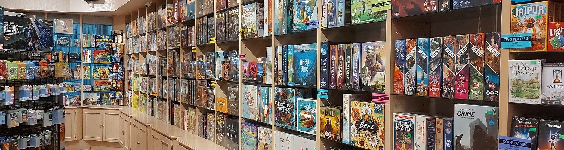 Board games and card games in Vancouver BC Canada