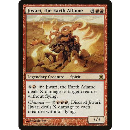 Jiwari, the Earth Aflame