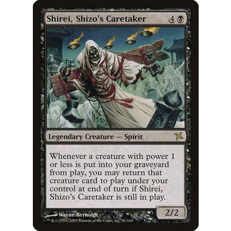 Shirei, Shizo's Caretaker