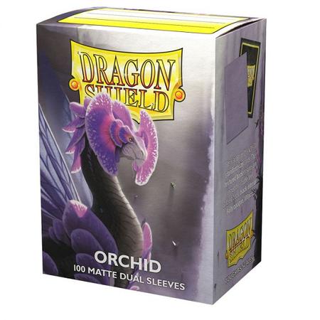 Dragon Shield - 63mm X 88mm Standard Dual Matte - Orchid 100 ct.