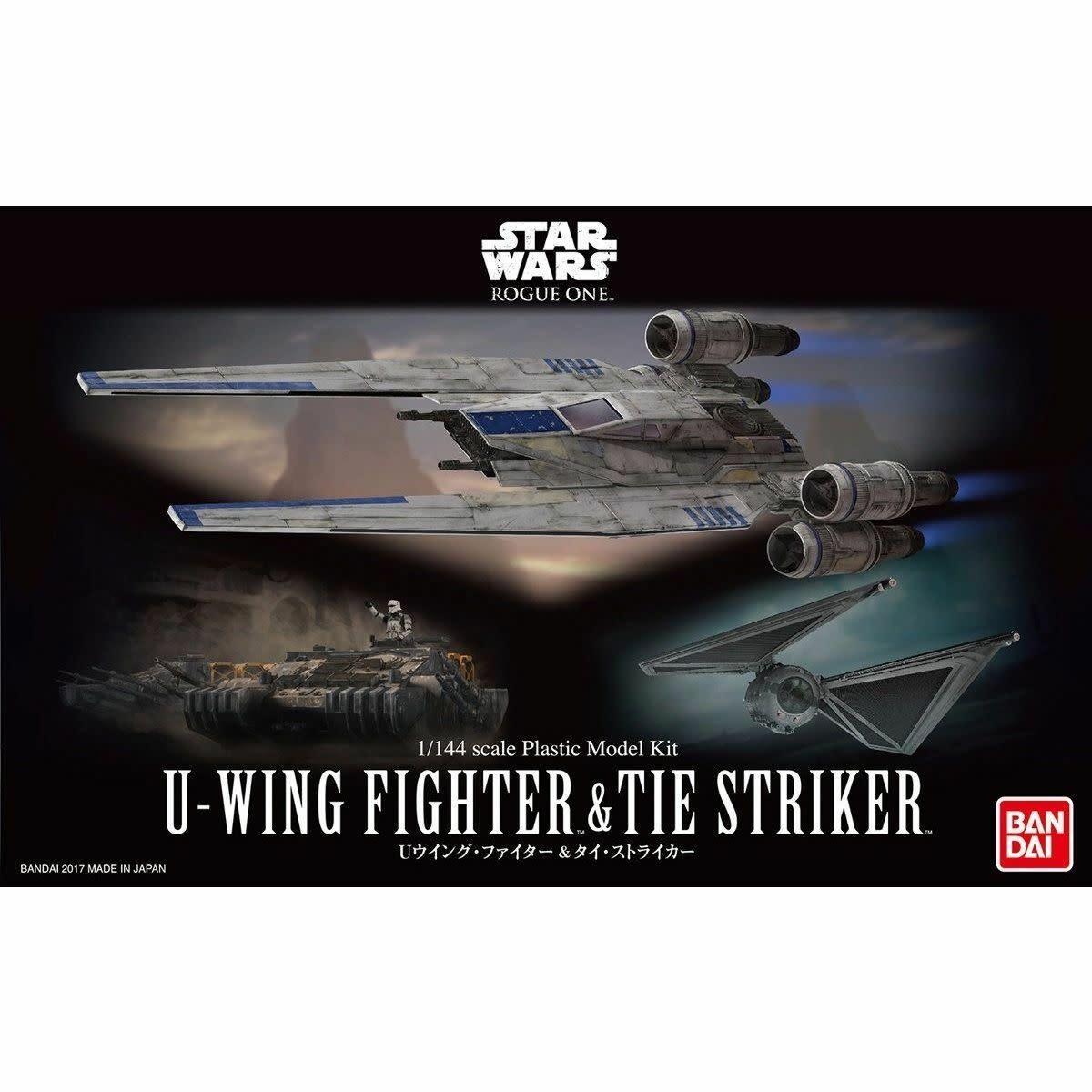 U-Wing Fighter & TIE Striker 1/144