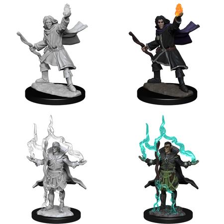 Pathfinder Battles Unpainted Minis - Elf Sorcerer (Male)