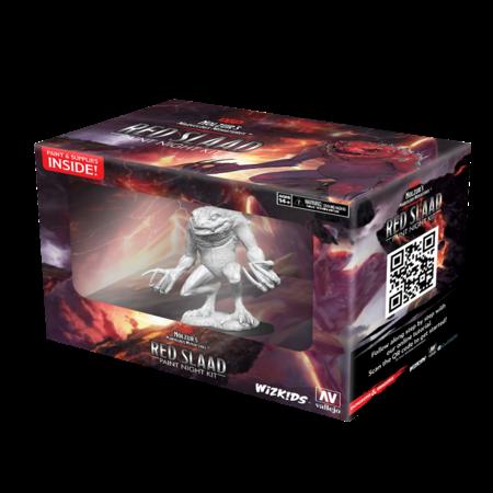 D&D Red Slaad Paint Night Kit