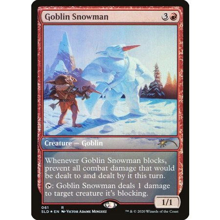 Goblin Snowman - Foil