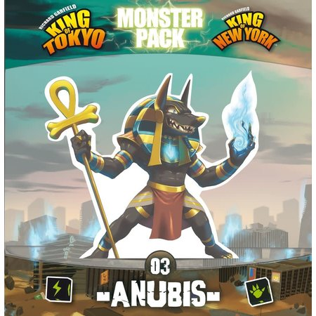 King of Tokyo/New York - Anubis Monster Pack