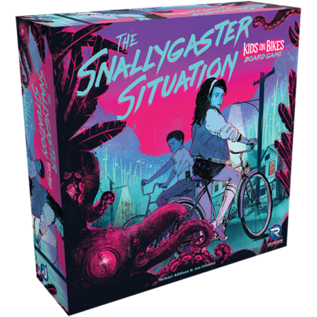 The Snallygaster Situation - A Kids on Bikes Board Game