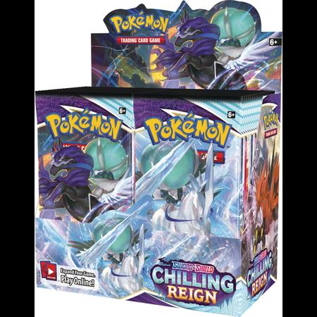 Pokemon Booster Box -  Chilling Reign
