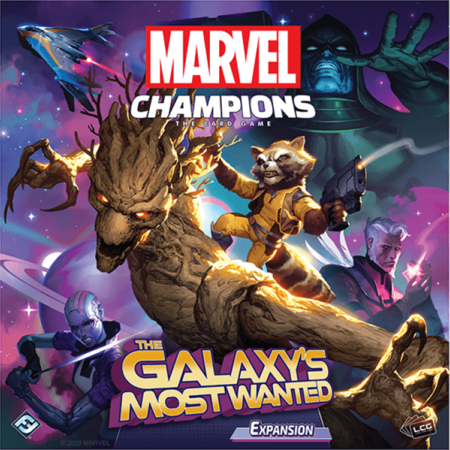 Marvel Champions: The Card Game - The Galaxy's Most Wanted Hero Pack