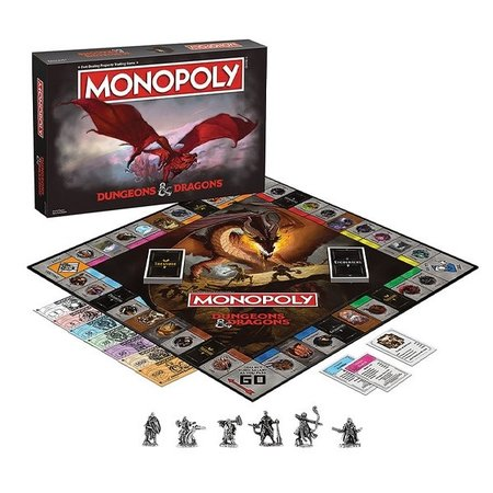 Monopoly - Dungeons & Dragons