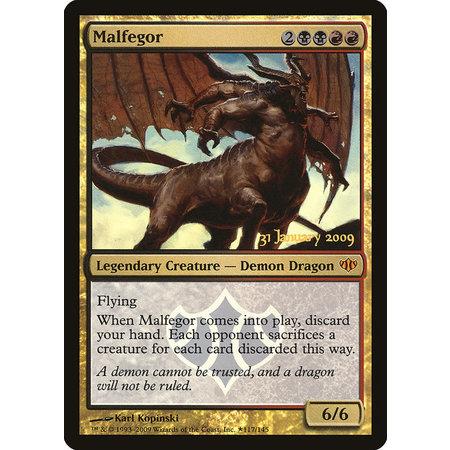 Malfegor - Foil - Prerelease Promo