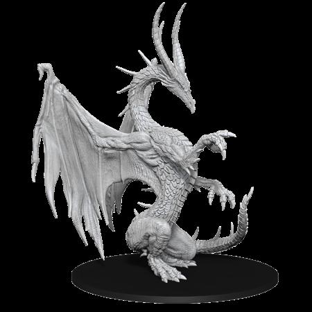 Pathfinder Battles Unpainted Minis - Blue Dragon