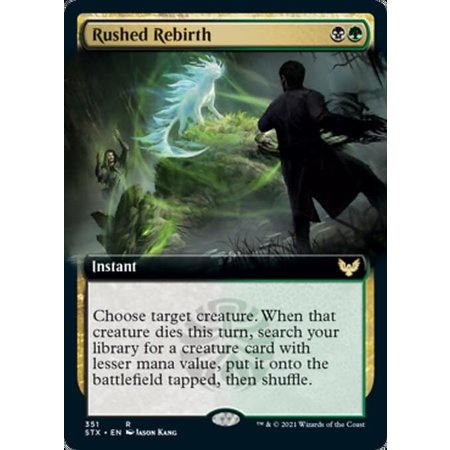 Rushed Rebirth - Foil