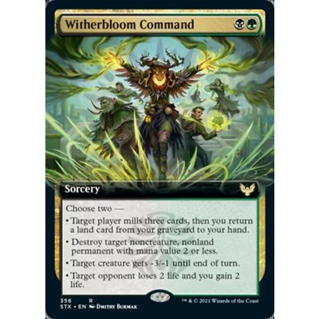Witherbloom Command - Foil