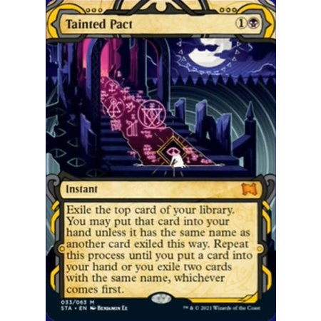 Tainted Pact - Foil-Etched