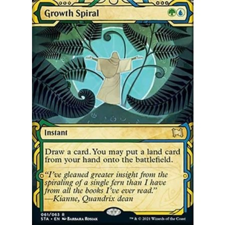 Growth Spiral - Foil-Etched