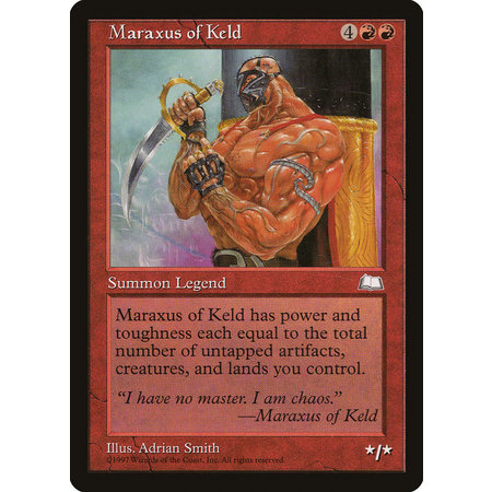 Maraxus of Keld (HP)