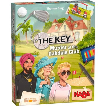 PREORDER - The Key: Murder at the Oakdale Club