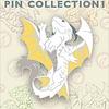 "2"" Enamel Pin - Baby White Dragon"