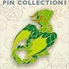 "2"" Enamel Pin - Baby Green Dragon"