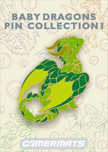 """2"""" Pin - Baby Green Dragon"""