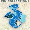 "2"" Pin - Baby Blue Dragon"