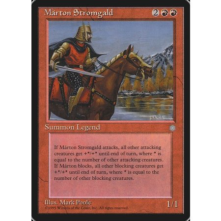 Marton Stromgald (HP)