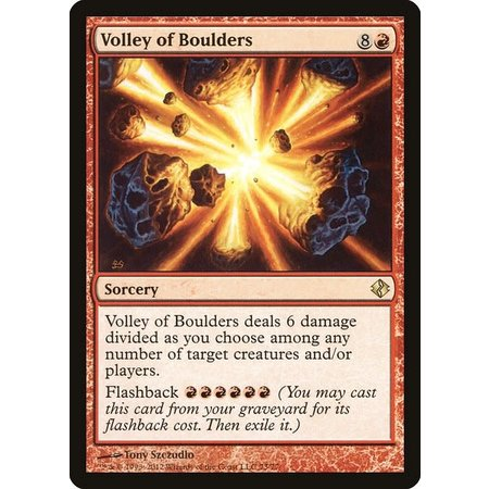 Volley of Boulders
