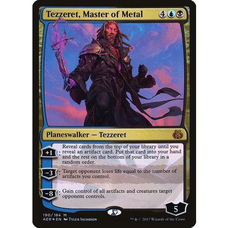 Tezzeret, Master of Metal - Foil - Planeswalker Deck Exclusive